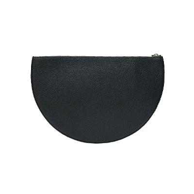 the leather d clutch bag